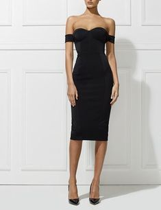 Chloe Dress - Black by Misha Collection