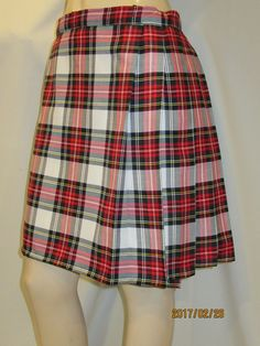 Dress Stewart Plaid Ladies KiltHighland game Tartan Plaid