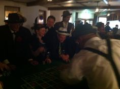 Gambling tables at the Speakeasy