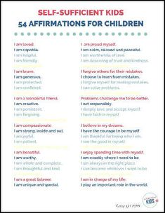 Is your child stuck in a cycle of negative thinking? Affirmations for kids can help. Your child can develop a mindset of positivity and success. Teaching Boys, Kids Learning, Family Day Quotes, Fun Experiments For Kids, Positive Affirmations For Kids, Reward Chart Kids, Kids Mental Health, Charts For Kids, Coping Skills