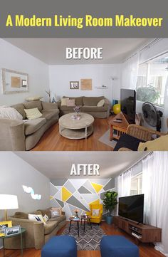 Grand Design A Modern Living Room Makeover DIY