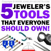 ►► 5 JEWELER'S TOOLS EVERYONE SHOULD OWN ►► Jewelry Secrets
