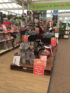 We Used 22 Pallets To Create Our Weber Grill Display To