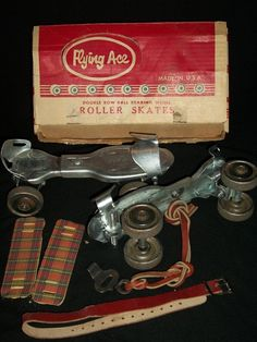 Flying Ace Moen Patton Inc Vtg Steel Roller Skates Adjustable Key Box Key Box, Flying Ace, Ebay Shopping, Antique Toys, Skates, Toy Boxes, Vintage Love, Steel, Friends