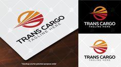 Trans Cargo Logo Template