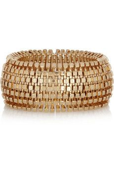 Kenneth Jay Lane Gold-plated bracelet | THE OUTNET