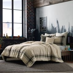 This is the most comfy blanket!!!  Studio 3B™ by Kyle Schuneman Harris Comforter Set in Taupe - BedBathandBeyond.com