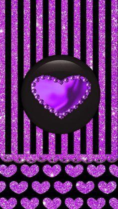 ✿⁀ᔕᕼᗩᗪᏋᔕ of ᑭᑌᖇᑭԼᏋ‿✿ Heart Iphone Wallpaper, Bling Wallpaper, Pretty Phone Wallpaper, Images Wallpaper, Purple Wallpaper, Locked Wallpaper, Purple Backgrounds, Cellphone Wallpaper, Pretty Wallpapers