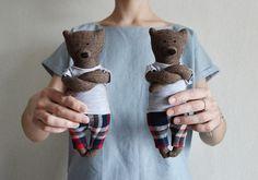 Ryan The Small Bear / Primitive Bear /Child friendly toys / Soft Bear - Best Friend for kids  https://www.etsy.com/ru/shop/PhilomenaKloss
