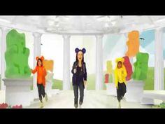 Gummy Bear Dance for Kids with alternate Spanish audio, great for short brain break in a Spanish immersion classroom