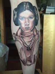 Princess Leia Tattoo 7