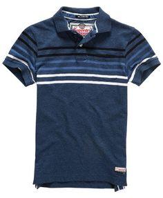 Superdry Lagoon Stripe Polo Shirt