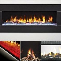 Contemporary cool is all about customization. Personalize the interior of your fireplace for a look that's all yours. Contemporary Fireplaces, Gas Insert, Linear Fireplace, Minimalist Decor, Contemporary Style, Interior, Instagram Posts, Indoor, Interiors