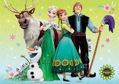frozen Fever - Olaf and Sven foto (38954695) - fanpop