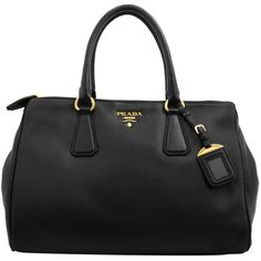 PRADA Cervo Double Zip East West Bag ($1,570) ❤ liked on Polyvore