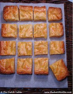 The Dutch Table: Joodse Boterkoek (Dutch Ginger Butter Cake)