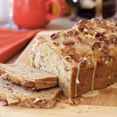 Flavorful Quick Breads: Cream Cheese-Banana-Nut Bread