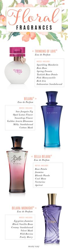 Gift your favorite gal a fragrance that embraces the floral scents of summer! | Mary Kay