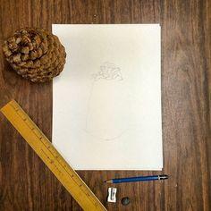 Pre-paint sketch