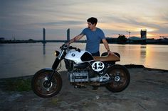#Bmw k 100 RT 1987 cafe racer / tracker Made in bordeaux