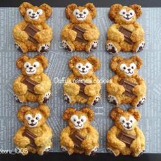 Oatmeal Cookie Recipes, Oatmeal Cookies, Pastry Design, Friends Cake, Duffy, Food Design, Cake Art, Gingerbread Cookies, Food Art
