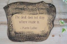 Music to my ears! por Ana Martín en Etsy
