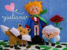 The Little Prince Set - Original Felt Collection by Carine Calé