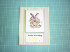 Easter Card  Using: Bugaboo Stamps Digi Image