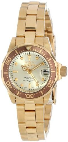 Invicta-Womens-12527-Pro-Diver-18k-Gold-Ion-Plated-Stainless-Steel-and-Champagne-Dial-Bracelet-Watch