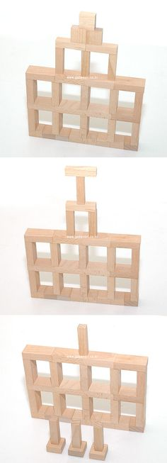 Your weekly inspiration Jenga Blocks, Wooden Blocks, Cube Pattern, Pattern Blocks, Play Based Learning, Kids Learning, Block Center Preschool, Construction For Kids, Block Area