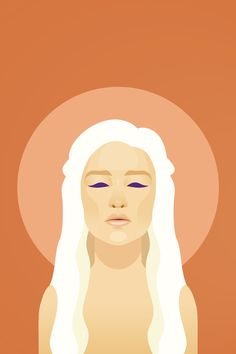 Game of Thrones Illustrations by Christian Ort, via Behance