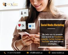 Want to see your site on top in the Google search engine list? NexBit is an experienced SEO agency in Indianapolis that has many years of experience in this field and professional SEO team too. Digital Marketing Strategy, Marketing Strategies, Social Media Marketing, Best Seo Services, Seo Agency, Brand Promotion, Seo Company, Search Engine, Searching