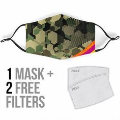 Free Filters, Air Pollution, Medical Advice, Face Shapes, Your Skin, Camouflage, Masks, Army, Design