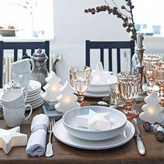Traumhafte Festtagstafel #impressionen #christmas