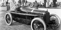 Louis Chevrolet at the 1919 Indianapolis 500