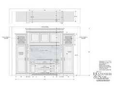 1000 Images About Interior Design Technical Drawings On Pinterest Elevation Drawing Section