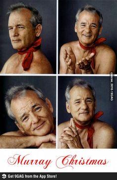 Murray Christmas to you.