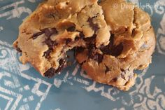 Gluten-free, grain-free chocolate chip cookies {recipe}