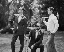 Croquet Close-Ups: don't be afraid to pose for some fun and silly shots like these groomsmen did Wedding Pics, Wedding Couples, Wedding Bells, Dream Wedding, Wedding Ideas, Wedding Fun, Groom Outfit, Groom Style, Groom And Groomsmen