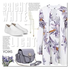"""""""Bright white sneakers"""" by purpleagony ❤ liked on Polyvore"""