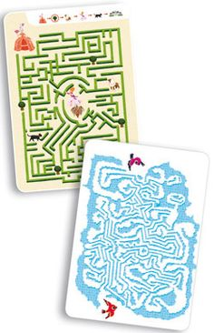 Mini jeu Mini Games Les labyrinthes d'Ariane Djeco chez Bianca and Family