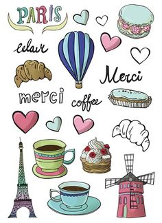 - Стикиры - Home Baran Suitcase Stickers, Laptop Stickers, Cute Stickers, Paris Travel, France Travel, Travel Book Layout, Origami Lucky Star, Travel Collage, Springtime In Paris