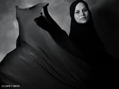 the shadow of hijab, photographed by Panji T Utama