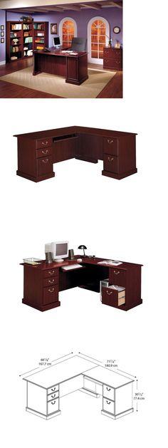 Office Furniture Executive Desk L Shape Computer Corner Home Workstation Funiture New