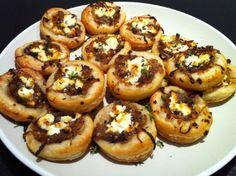 Mientras Hago Limonada: Tartaletas variadas para fiestas : frías y calientes