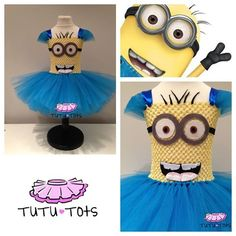 Oh My Goodness, I want one for me!Despicable Me tutu