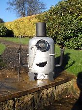 Toff Minion Like Gas Bottle Wood Burner Patio Heater