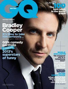 Bradley Cooper for GQ UK Avril 2013 issue