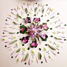 Another gorgeous mandala by @ninahsell