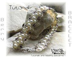 Bracelet Tutorial  Beaded Pearl Bracelet by FDEkszerTutorials, $6.00